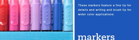 Marker closeup